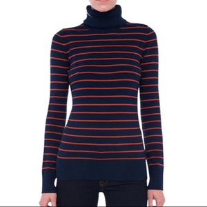 French Connection Babysoft Striped Jumper Navy